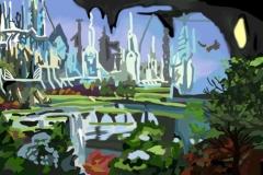 """Город моей мечты. Автор: Сигида Ксения, <br/>МБОУ """"Гимназия №1"""" (11 - 14 лет)"""