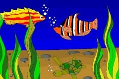 """Подводный мир. Автор: Ройтман Софья, <br/>МАОУДО """"ЦДТ"""" (11 - 14 лет)"""