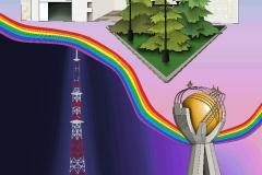 Любимый город. Автор: Язовская Милана Владимировна, <br/>Школа 8 (15  - 18 лет)