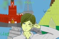 Привет Миру. Автор: Дубровин Даниил, МБОУ СОШ №11 г. Биробиджана (15-18 лет)