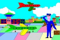 """Хочу летать. Автор: Шахмурзаев Ираклий, <br/>МКОУ """"СОШ с.Екатерино Никольское (6 - 10 лет)"""