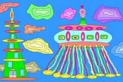 """Будущее. Автор: Садовская Софьи , <br/>МАОУДО """"ЦДТ"""" (6 - 10 лет)"""