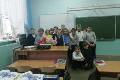 День Учителя. Автор: Елизавета Тепан,   Снежкина Валерия <br/> МКОУ НОШ с. Ленинское