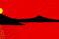 "Fujiyama. Автор: Ирина Антонова, <br/> МБОУ ""СОШ №18 п.Теплоозерск"""