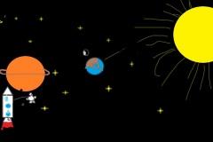 """Будущее. Первый выход на орбиту Сатурна. Автор: Егор Клушин , <br/> МБОУ """"СОШ №18 п. Теплоозерск"""""""
