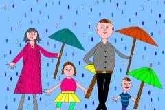"""Мы гуляем под дождём. Автор: Никита Четвергов.  <br/> МАОУДО """"ЦДТ"""""""